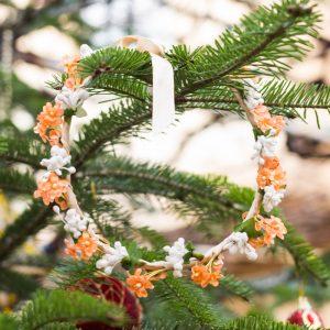 coronita craciun portocaliu