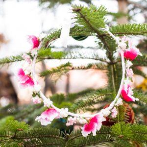 coronita flori ro aprins