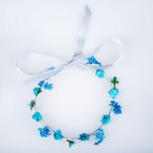 coronita accesorii par albastru