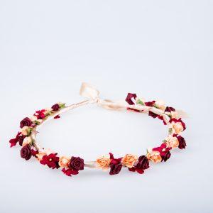 coronita flori rosii_portocalii