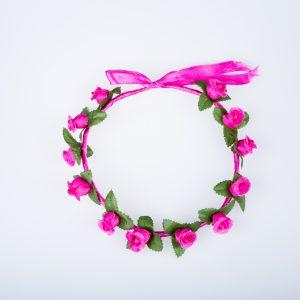 coronita flori roz