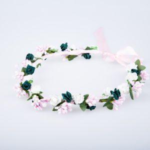 coronita flori verzi 2