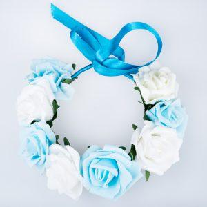 coronita_flori albastr-albe