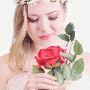coronite cu flori - mireasa