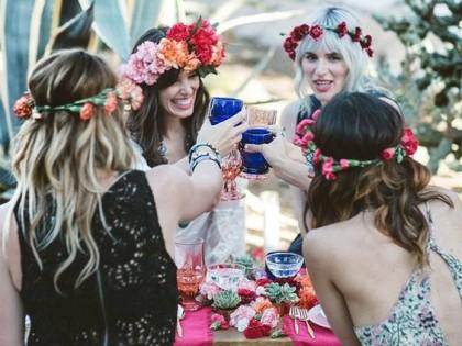 Cele mai bune idei pentru petrecerea Burlacitelor in stil Boho
