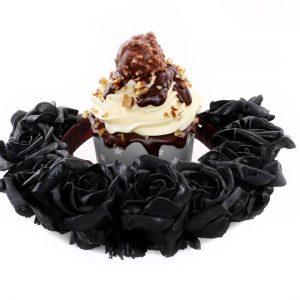 coronita-trandafiri negri