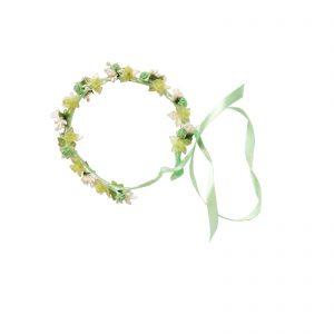 Coronita-flori-verzi