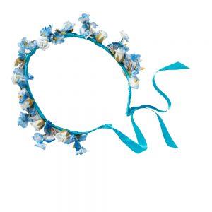 Coronita flori diverse albastre_Floronite