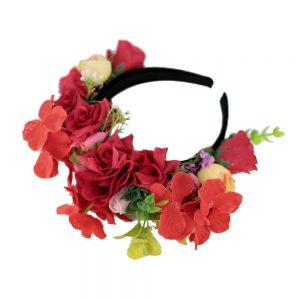 Coronita flori rosii_spate_Floronite