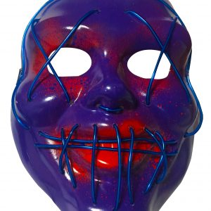 Masca_Halloween_lumini stinse albastru