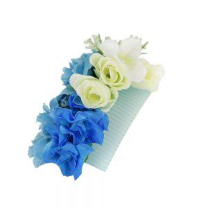 Pieptene flori albastre_Floronite