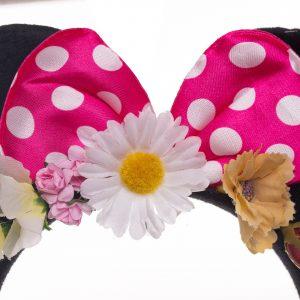 Coronita Minnie roz cu urechi