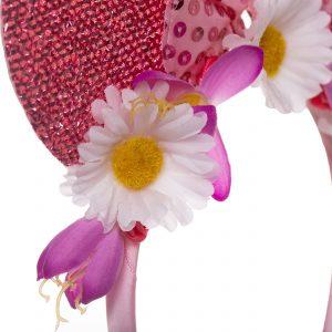Coronita cu urechi roz fetite